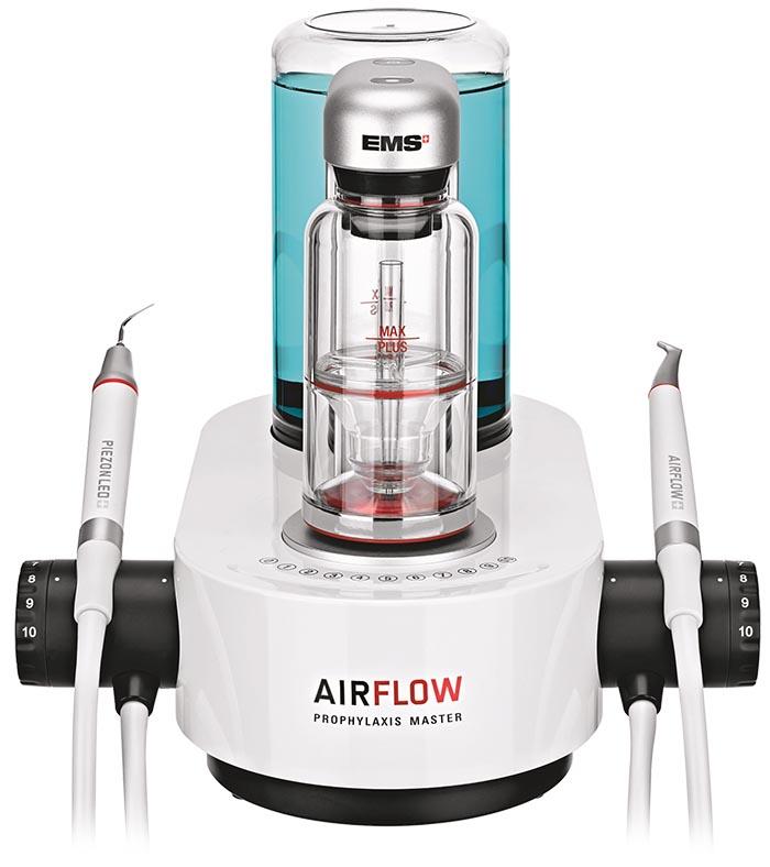 Zubní ordinace Brno airflow detail
